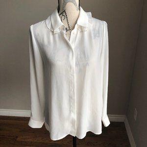 Nanette Lepore Long-Sleeve Double-Collar shirt